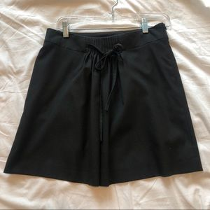 Gap black mini skirt